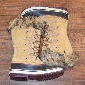 Sorel Caribou Waterproof Fur Lined Boots